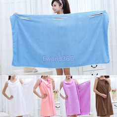 Cheap gowns china, Buy Quality gown directly from China towel buyer Suppliers: New Womens Body Wrap Bath Towel Spa Shower Robe Bathrobe Absorbent Dressing Gown 5 Colors &nbsp Sewing Tips, Sewing Hacks, Sewing Projects, Clothing Accessories, Women's Clothing, China Buy, Spa Shower, Cheap Gowns, Body Wraps