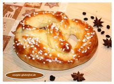 Glutenfreie Zuckerbrezeln aus Quark-Öl-Teig! Herrlich weich und lecker! http://www.rezepte-glutenfrei.de