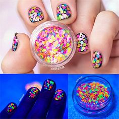 NICOLE DIARY 1 Box 1mm-2mm Mixed Nail Glitter Multicolor ... http://amzn.to/2izzxXR