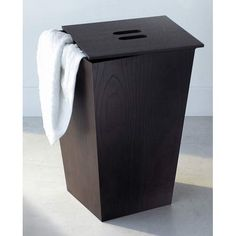 Iside Wenge Laundry Basket With Cover Ws Bath Collections Hampers Hampers Bathroom Furnitu