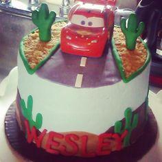 Cars first birthday cake!