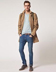 ASOS Selected Momentum Trench Coat | Mens Winter Fashion