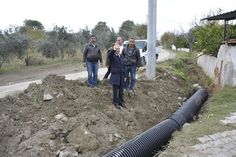 Belediye Başkanımız Ahmet Necati Özbaş, Gerali mahallemizde yapılan kilit taş döşeme çalışmalarını kontrol etti.