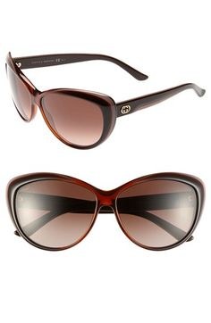 Gucci 61mm Retro Sunglasses available at #Nordstrom