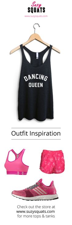 Show everyone how much you love dancing with this Suzy Squats dance practice top, suitable as part of your dancing outfit or for casual wear. Click the link above to see more workout clothing that's perfect for even the most intense dance routine at the Suzy Squats store.