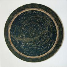turn of the century star map or celestial calendar constellations via 2bitsstudio