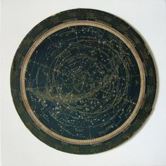 turn of the century star map or celestial calendar constellations via 2bitsstudio