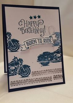 Stamping at The Warren: One Wild Ride Meets Better Together Masculine Birthday…