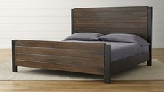 Forsyth King Bed | Crate and Barrel