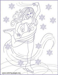 nicoles free coloring pages ice skating ice princess coloring pages