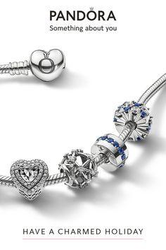 Disney Pandora Bracelet, Charms Pandora, Pandora Bracelets, Bracelets Design, Glitter Hearts, Rose Gold, Charmed, Sterling Silver, Necklaces