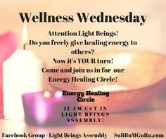 Energy Healing Circle 27 Nov 2017