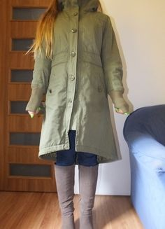 Kup mój przedmiot na #vintedpl http://www.vinted.pl/damska-odziez/plaszcze/10429727-parka-khaki-hm-dluga-musthave
