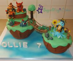 Skylanders Skylands Cake! For my sons 7th birthday, hes skylanders mad! :)