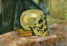 Paul Cezanne  Skull  1900