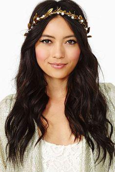 Gardenhead Pearl Goddess Crown