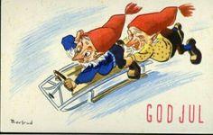 Julekort Jørgen Thorsrud Christmas Postcards, Norway, Disney Characters, Fictional Characters, Abs, Disney Princess, Crunches, Abdominal Muscles, Fantasy Characters