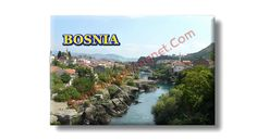 Fridge Magnet about Bosnia.