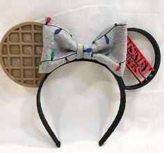 Disney Things- Printed Stranger Things Inspired Mouse Ears - Dress Models - New Ideas Diy Disney Ears, Disney Mickey Ears, Disney Diy, Stranger Things Have Happened, Stranger Things Funny, Stranger Things Netflix, Stranger Things Merchandise, Stranger Things Halloween, Stranger Things Aesthetic