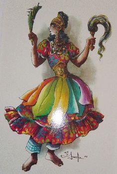 Oya wears 9 different colored scarves around her waist to represent her 9 miscarried children Oya Orisha, Oya Goddess, Orishas Yoruba, African Mythology, Yoruba Religion, Warrior Queen, Goddess Warrior, African Diaspora, Gods And Goddesses