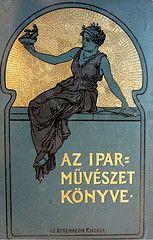 Book of Applied Arts Antique Books, Vintage Books, Vintage Posters, Book Cover Design, Book Design, Illustrations And Posters, World Best Photos, Art Nouveau, Art Deco