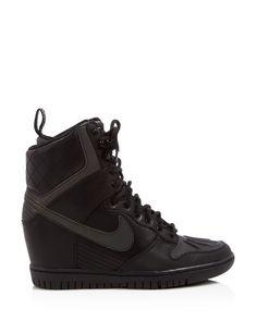d9dc688f3 Nike Dunk Sky Hi Lace Up High Top Wedge Sneakers | Bloomingdale's Sneaker  Wedges, Sneaker