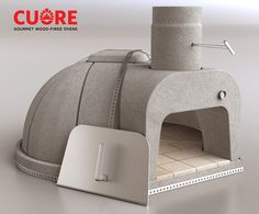 Cuore 1000 Plus Wood-Fired Oven Kit, assembled view