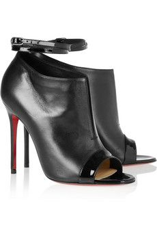 Diptic 100 leather ankle boots by Christian Louboutin