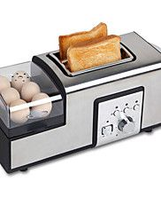 Breadmaker Multifunction Stainless Steel Toasters V 850 W Kitchen Appliance Cheap Kitchen Appliances, Stainless Steel Toaster, Baguettes, Aladdin, Kitchen Aid Appliances, Sandwich Toaster, Bread Maker Machine, Stainless Steel, Unique Selling Proposition