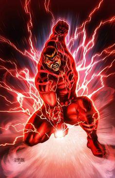 Red Lantern Guy Gardner by Ryan Pasibe