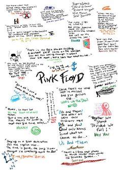 Pink Floyd -Lyrics