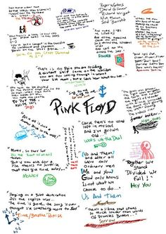 Pink Floyd -Lyrics