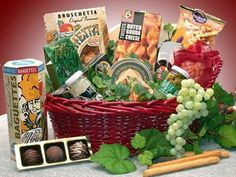 The Perfect Gift Basket - Fancy Foods Gourmet Gift Basket,