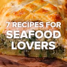 7 Recipes For Seafood Lovers - Seafood Recipes Salmon Recipes, Fish Recipes, Seafood Recipes, Chicken Recipes, Cooking Recipes, Healthy Recipes, Dinner Recipes, Seafood Casserole Recipes, Cooking Games
