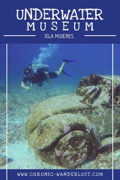 They sank sculptures and created an underwater museum - the MUSA Isla Mujeres. Why you should visit and who you should dive with. Mexico Vacation, Cancun Mexico, Cruise Vacation, Mexico Travel, Vacation Spots, Best Scuba Diving, Padi Diving, Travel Through Europe, Packing List For Travel