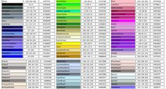 COLOR NAME 2