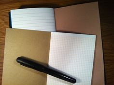 My Life All in One Place: Make lined and grid paper booklets for your Midori Traveler's Notebook