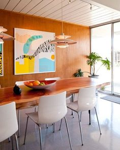 Big Appetite : 20 Dining Rooms With Large Scale Art