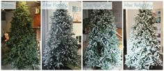 Last year I wanted a snowy flocked Christmas tree so badly, I decided to do it myself. It looked gorgeous! Now I am sharing all the details of how messy it was, how it held up, and if I would do it again.