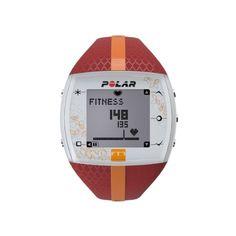 Polar Damen Herzfrequenz-Messgerät Fitness Uhr, Red Orange, 90051048 - http://herrentaschenkaufen.de/polar/red-orange-polar-damen-herzfrequenz-messgeraet