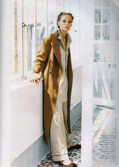 Vogue Paris oct 1994 Chrystele Saint Louis Augustin by Marc Hispard and Alexia Silvagni