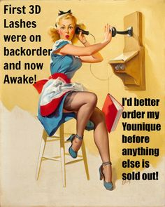 Younique's products are SO POPULAR they are flying off the shelf! Over 10,000 sets of 3D Fiber Lashes sold in under 24 hours! Younique is quickly becoming a household name! Don't miss out because you waited!