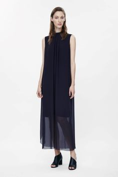 COS   Dress with padded neckline