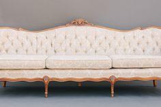 Newcastle Sofa | Cream Victorian Sofa