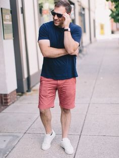 27 Perfect Casual Men Outfit for Summer * bikeboulevardstuc. Best Picture For Plus Size Summer Outfits ideas For Your Taste You are looking for something, an Summer Outfits Men, Short Outfits, Summer Men, Mens Fashion Wear, Inspiration Mode, Street Style Summer, Mens Clothing Styles, Men Casual, Casual Shoes