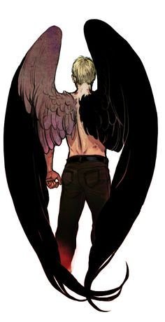 On the Back of the Angel by Chenj27.deviantart.com on @deviantART