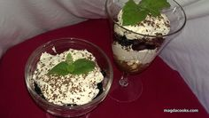 Almost guilt free tiramisu ;-) just don't pay attention to heavy cream 0_o