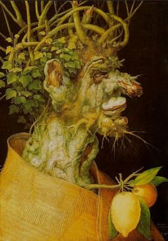 Winter (L'Inverno) by Giuseppe Arcimboldo, painted in 1573