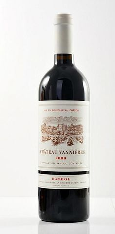 Top #wine selection >>> Chateau Vannieres, Mourvedre dominant blend, Bandol, Provence, France...Follow us on Twitter @TopWinewPIcs