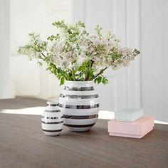 Omaggio vase - medium silver